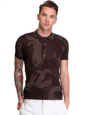 Diesel - Fine Gauge Cotton Camo S/S Polo