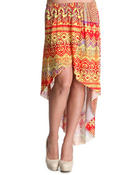 Bottoms - San Beach Tulip Maxi Skirt