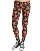 Bottoms - Cluster Floral Leggings