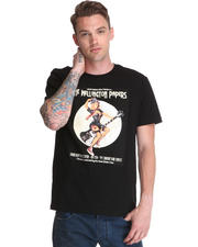 Black Apple - Vintage Pinup Graphic T-Shirt