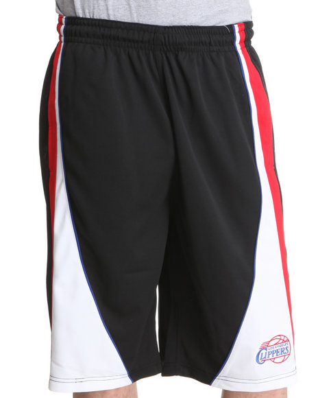 Nba, Mlb, Nfl Gear - Men Black Los Angeles Clippers Dukes Short