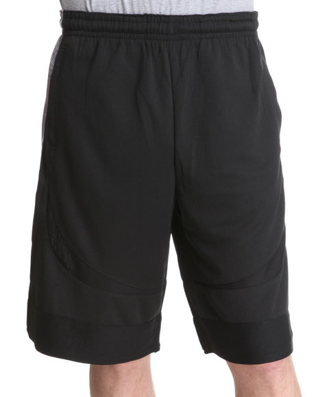 Nba, Mlb, Nfl Gear - Men Black Brooklyn Nets Blueprint Shorts