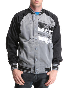 NBA, MLB, NFL Gear - Brooklyn Nets Kareem Jacket