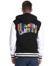 Billionaire Boys Club - Spectrum Varsity Sweatshirt w/ Embroidered Arch Logo