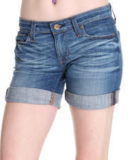 Big Star - Remy Shorts w/ Star Pckt Detail