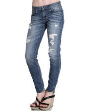 Big Star - Alex Mid Rise Skinny 17 Thrasher Jeans