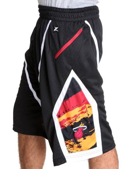 Nba, Mlb, Nfl Gear - Men Black Miami Heat Kevin Short - $15.99