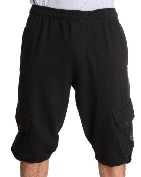 Enyce Men Black Covert Cargo Short