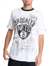 NBA, MLB, NFL Gear - Brooklyn Nets Blueprint Tee