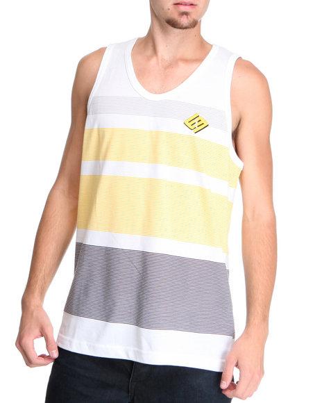 Enyce Men Yellow Pointe Tank