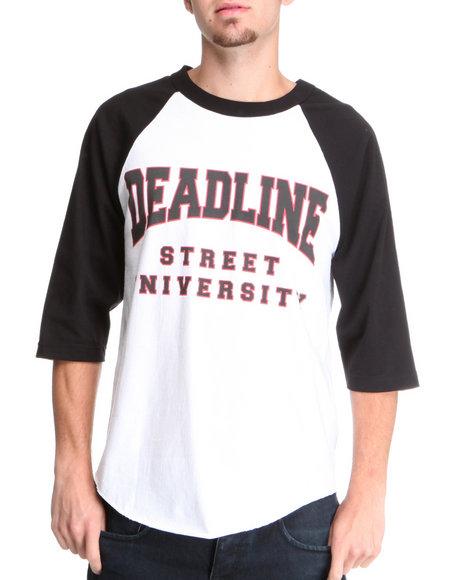 Deadline Red Street University Raglan Tee