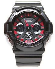 G-Shock by Casio - Black Face w/ Red Accents Watch