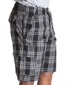 Company 81 - Co81 Plaid Cargo shorts