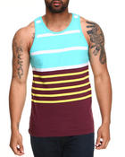 Shirts - Engineer Striped Tank Top