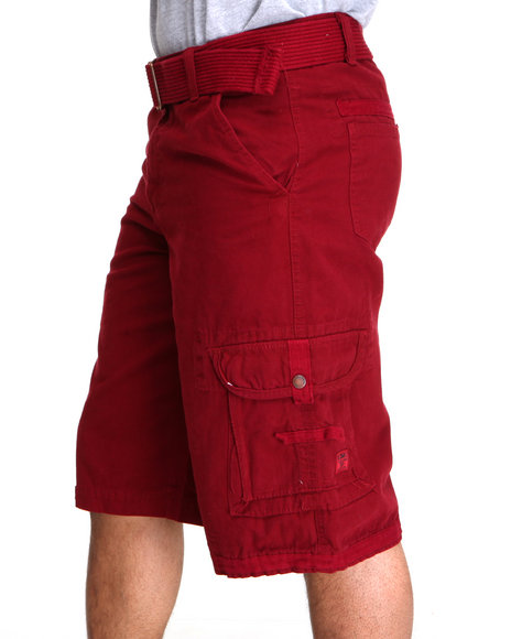 Maroon Shorts Men
