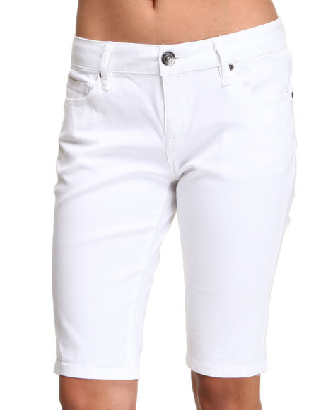 white capri pants for women - Pi Pants