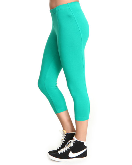 Basic Essentials Women Green Marsha Active Capri