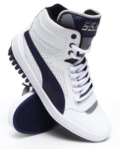 Puma Men White Future Sky Hi Sneakers