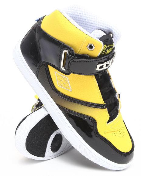COOGI Men Black,Yellow Coogified Hightop Sneaker