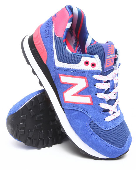 New Balance Women Blue 574 Yacht Club Sneakers