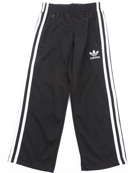 Adidas Boys Black Firebird Track Pants