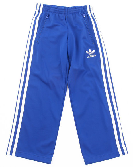 Adidas Girls Blue Firebird Track Pants