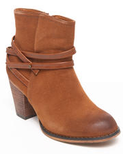 Fashion Lab - Emmy Bootie w/strap detail