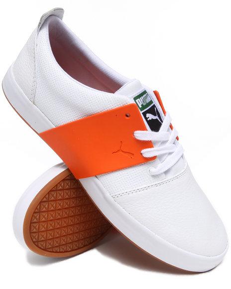 Puma Men White El Ace 3 L Sneakers