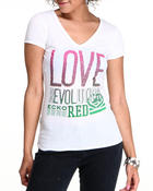Ecko Red - Love Revolution VNeck Tee