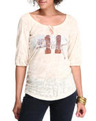 Long-Sleeve - Free People Football Inspired Tee