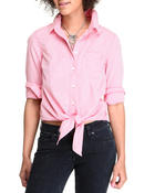 Levi's - Daisy Button Down Top w/tie