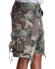 DRJ Army/Navy Shop - Woodland Vintage Rip Stop M-65 Field Shorts
