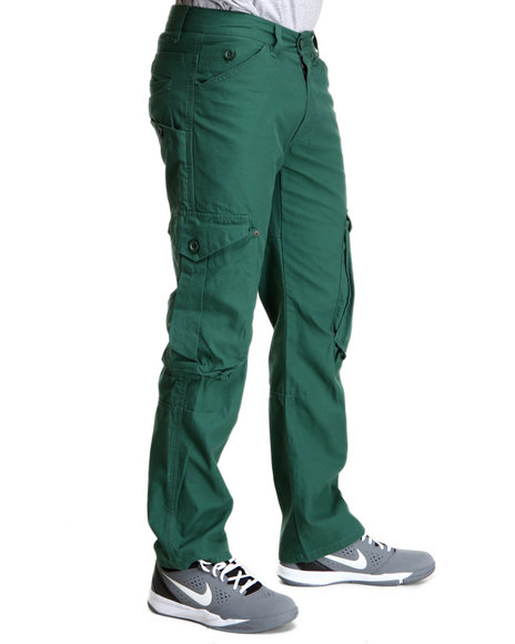 Syn Jeans Green Racer Cargo Pants