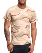 Shirts - Tri Color Desert Camo Tee