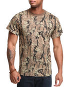 Shirts - Woodland Digital Camo Tee