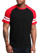 Buyers Picks - Raglan Double Striped tee