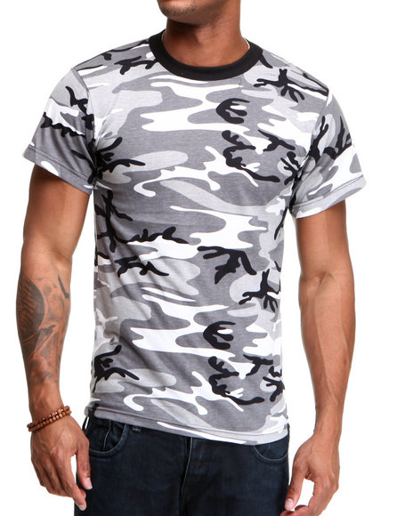 Buyers Picks - Men Camo City Camo Tee