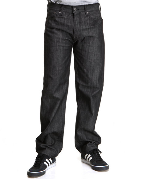 Levi's Men Black,Grey 562 Loose Tapered Jeans