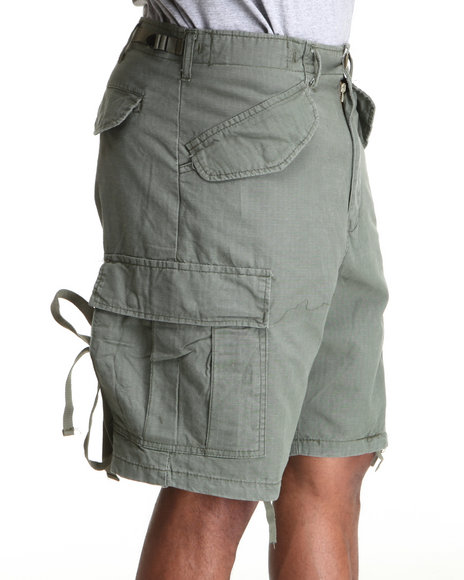 Rothco Olive Woodland Vintage Rip Stop M-65 Field Shorts