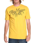 Shirts - This Means War Tee