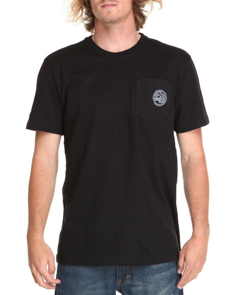 Enyce Men Black Required Alpha Crew T-Shirt