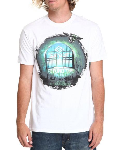 Enyce Men White Beyond Tunnel T-Shirt