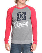KR3W - Original 4 Tri-Blend Crew Fleece Sweatshirt