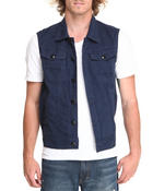 Vests - Color Twill Vest