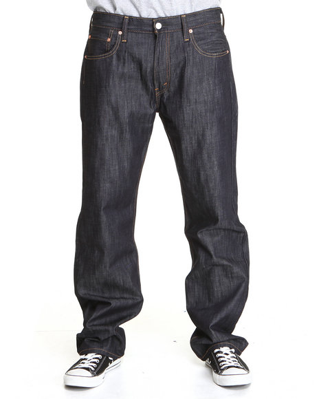 Levi's Dark Wash 569 Loose Straight Fit Ice Cap Jeans