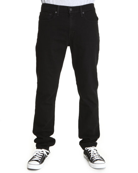 511 skinny fit black stretch jeans