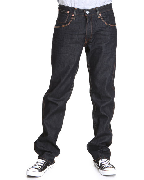 Levi's - Men Dark Wash 514 Slim Straight Fit Potrero Coal Miner Jeans