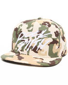 Hats - Draft Rock Snapback Cap