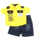 Sets - 2 PC SET - WOVEN & SHORTS (INFANT)