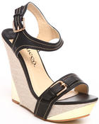 Fashion Lab - Vania Wedge w/buckle detail